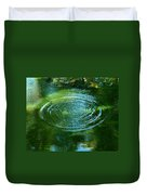 The Fish Pond Duvet Cover