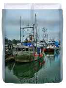 The Fishing Boat Genesta Hdrbt4240-13 Duvet Cover