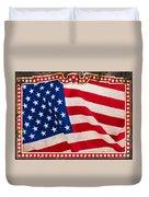 The Flag Duvet Cover by Martin Bergsma