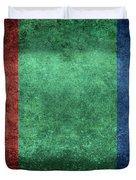 The Flag Of The Planet Mars Duvet Cover