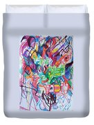 The Flowing River The Source Of Wisdom 1 Duvet Cover