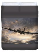 The Flying Fortress Duvet Cover
