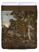 The Forest Of Fontainebleau Duvet Cover