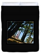The Forest Of The Golden Gate Duvet Cover