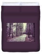 The Forest Road Retro Duvet Cover