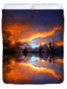 The Forgotten Sunset Duvet Cover