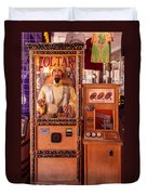 The Fortune Teller And Friend Duvet Cover