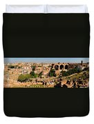The Forum From The Palatine Duvet Cover