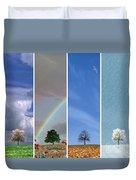 The Four Seasons Duvet Cover
