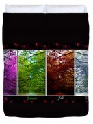 The Four Seasons- Featured In Comfortable Art And Newbies Groups Duvet Cover