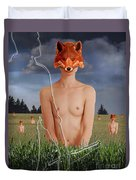 The Fox Finder Duvet Cover