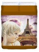 The French Girl Duvet Cover