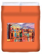 The Frenchmen Hotel New Orleans Duvet Cover