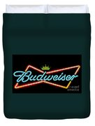 The Funky King Of Bud Duvet Cover