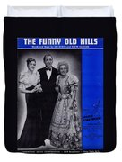 The Funny Old Hills Duvet Cover