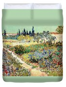 The Garden At Arles, 1888 Duvet Cover