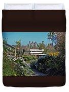 The Garden Path Duvet Cover