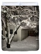 The Garden Sleeps Duvet Cover by Michelle Calkins