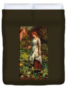 The Gardeners Daughter Duvet Cover
