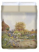 The Gardens At Chequers Court Duvet Cover