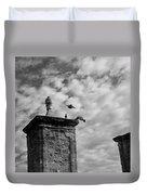 The Gate At Castillo Duvet Cover