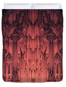 The Gates Of Barad Dur Duvet Cover by Curtiss Shaffer