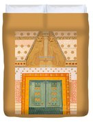 The Gateway Of Troy Duvet Cover