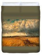 The Gathering Storm, 1819 Duvet Cover by John Constable