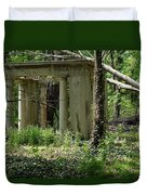 The Gazebo In The Woods Duvet Cover