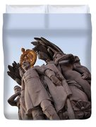 General George Meade Memorial -- The Front Duvet Cover