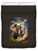 The Genie Of Study And Love Duvet Cover