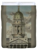 The German Cathedral On The Gendarmenmarkt Duvet Cover