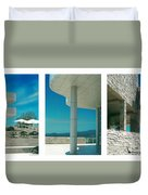 The Getty Triptych Duvet Cover