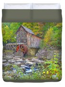 The Glade Grist Mill Duvet Cover
