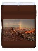 The Glory Of Sandstone Duvet Cover