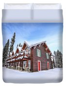 The Glory Of Winter's Chill Duvet Cover