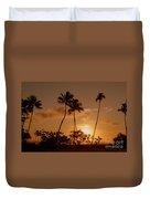 The Glow Of Sunset Duvet Cover