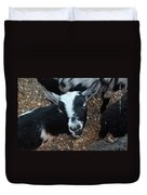 The Goat With The Gorgeous Eyes Duvet Cover