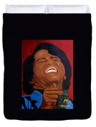 The Godfather Of Soul Duvet Cover