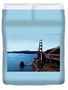 The Golden Gate Bridge Duvet Cover
