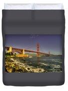 The Golden Gate Bridge Duvet Cover