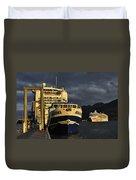 The Golden Hour Duvet Cover by Cathy Mahnke