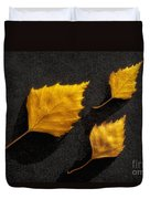 The Golden Leaves Duvet Cover