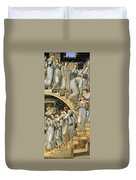 The Golden Stairs Duvet Cover