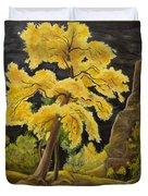 The Golden Tree Duvet Cover