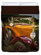 The Golden Twenties Duvet Cover