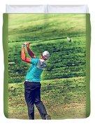 The Golf Swing Duvet Cover