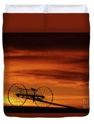 The Good Old Days Duvet Cover by Bob Christopher