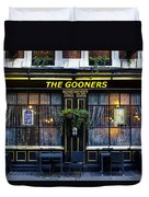 The Gooners Pub Duvet Cover