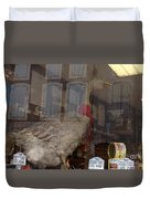 The Humorous Goose Duvet Cover by France  Art